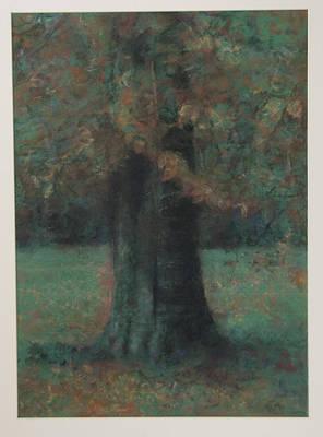 Autumn Tree Art Print by Paez  Antonio