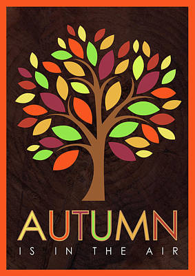 Autumn Wall Art - Painting - Autumn Tree by Tammy Apple