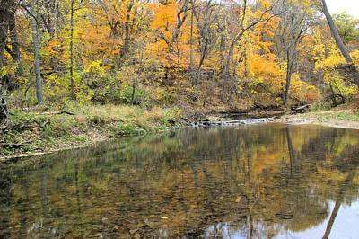 Photograph - Autumn Trout Stream by Bonfire Photography