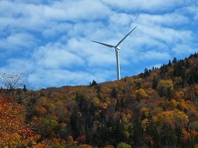 Photograph - Autumn Turbine by Gene Cyr