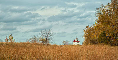 Photograph - Autumn Twilight Pano by Dale Kincaid