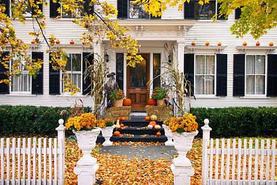 Photograph - Autumn Vermont by Brian Jannsen