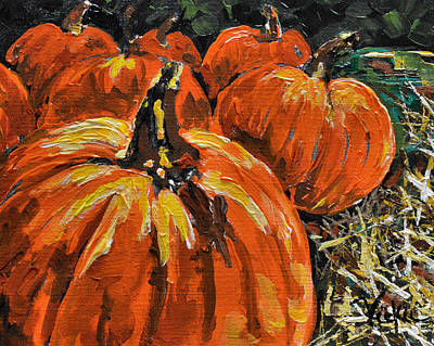 Painting - Autumn by Vickie Warner