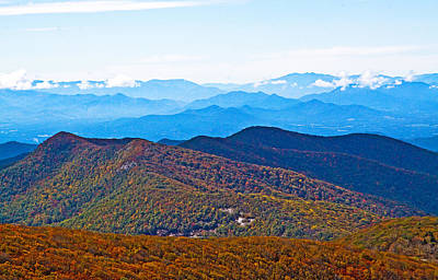 Autumn Photograph - Autumn Views Of The Blue Ridge Mountains by Mela Luna