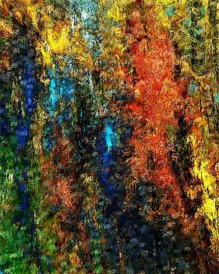 Digital Art - Autumn Visions Remembered by David Lane