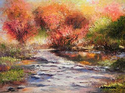 Painting - Autumn Walk by Patti Gordon