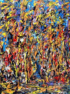 Painting - Autumn Wind by Yuriy Vekshinskiy