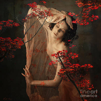 Digital Art - Autumn Winds by Linda Lees