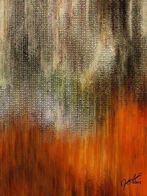Digital Art - Autumn Wood by The Art Of JudiLynn