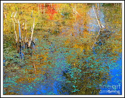 Photograph - Autumnal Abstraction by Mariarosa Rockefeller