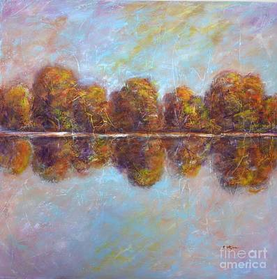 Autumnal Atmosphere Art Print