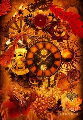 Autumnal Equinox 2014  Art Print by Putterhug  Studio