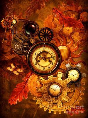 Autumnal Equinox Art Print by Putterhug  Studio