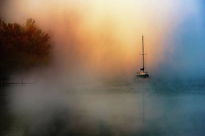Mast Photograph - Autumnal Orpheus ... by Zoran Dujic Lighthunter