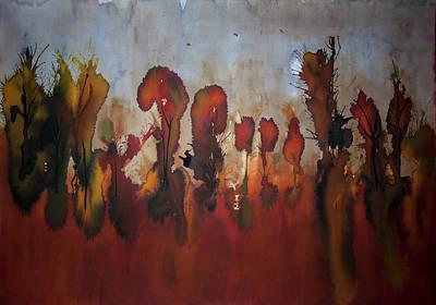Autumno V Art Print by Laura Benavides Lara
