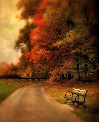 Rural Digital Art - Autumn's Abundance by Jessica Jenney