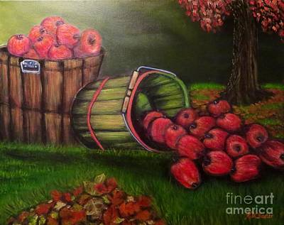 Turning Of The Leaves Painting - Autumn's Bounty In The Volunteer State by Kimberlee Baxter