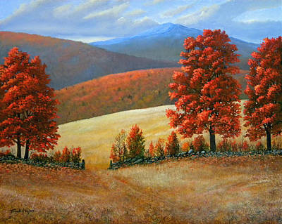 Autumns Glory Original by Frank Wilson