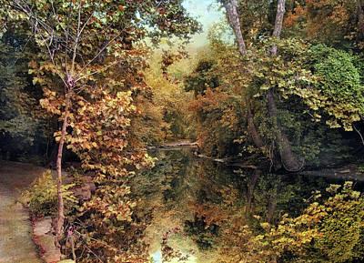 Autumn's Mirror Art Print by Jessica Jenney