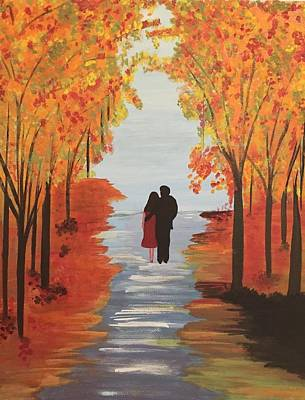 Painting - Autumn's Palette by Surbhi Grover