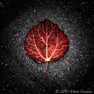 Autumn's Pulse I Art Print by Marie  Cardona