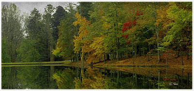 Photograph - Autumns Reflection by James C Thomas