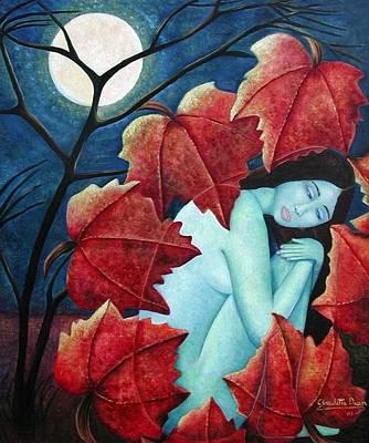 Painting - Autumn's Retreat by Claudette Dean