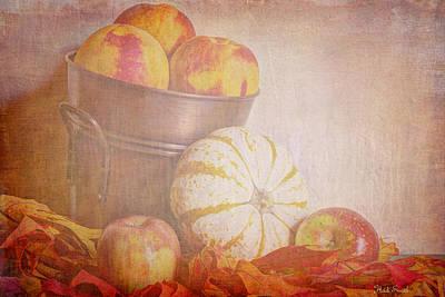 Autumn's Treats Art Print