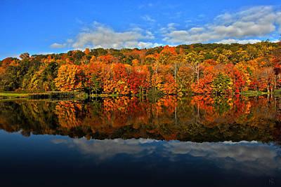 Autumnscape Print by Karol Livote