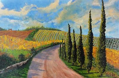Autunno Toscano Art Print