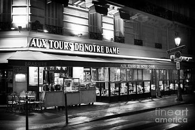 Photograph - Aux Tours De Notre Dame by John Rizzuto