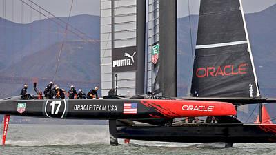 Photograph - Team Oracle by Steven Lapkin