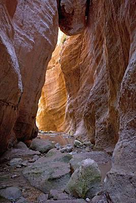 Cyprus Photograph - Avakas Gorge by Bob Gibbons