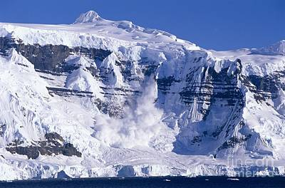 Photograph - Avalanche-antarctica by Kevin Schafer
