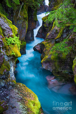 Avalanche Photograph - Avalanche Creek by Inge Johnsson