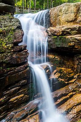 Avalanche Falls2 Art Print by Mike Ste Marie