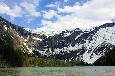 Photograph - Avalanche Lake G.n.p. by Connie Zarn