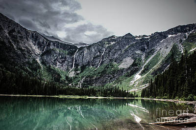 Photograph - Avalanche Lake  by Jim McCain