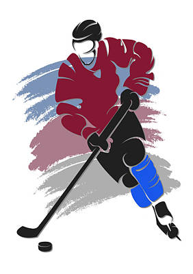 Avalanche Shadow Player2 Art Print by Joe Hamilton