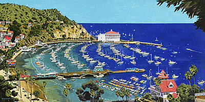 Avalon Bay Original by Andrew Palmer