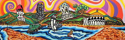 Avalon Bay Art Print by Carlos Martinez