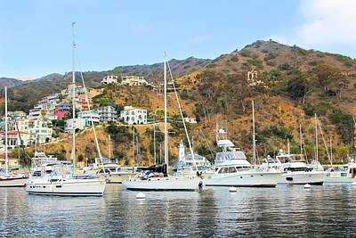 Photograph - Avalon Harbor by Jane Girardot