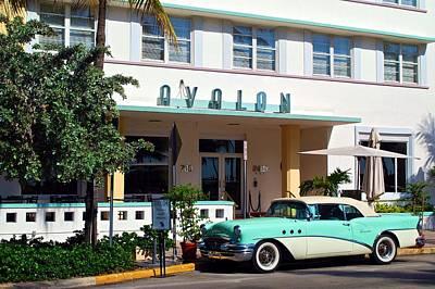 Photograph - Avalon Hotel by Ricardo J Ruiz de Porras