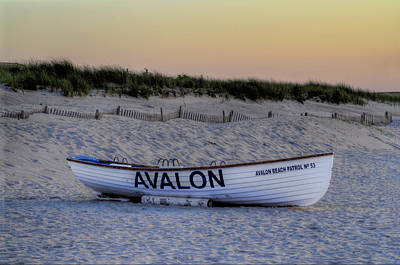 Avalon Lifeboat Art Print by Bill Cannon