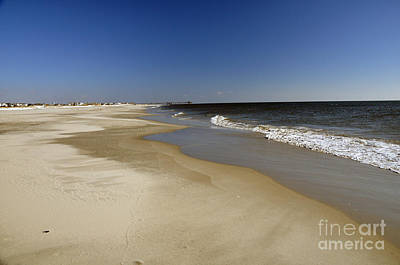 Photograph - Avalon Nj Shore by NightVisions