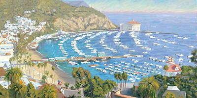 Avalon Panorama Art Print by Steve Simon