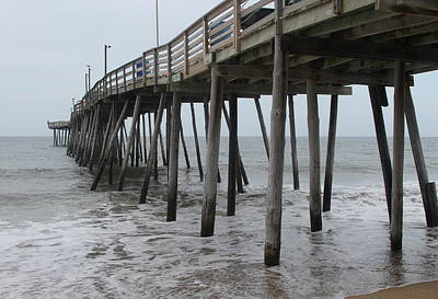 Tackle Photograph - Avalon Pier 3 by Cathy Lindsey
