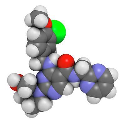Chemical Photograph - Avanafil Erectile Dysfunction Drug by Molekuul