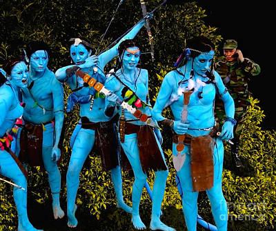Avatar Revisited Art Print
