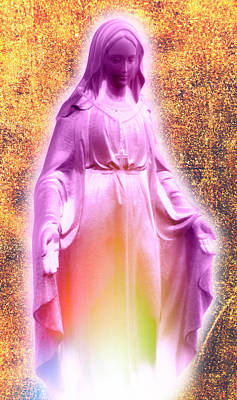 Mother Of Jesus Digital Art - Ave Maria by Aurelio Zucco